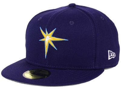 Tampa Bay Rays New Era MLB Alternate Collection 59FIFTY Cap