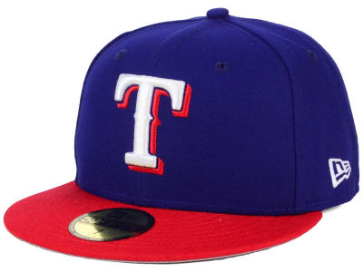 Texas Rangers New Era MLB Alternate Collection 59FIFTY Cap