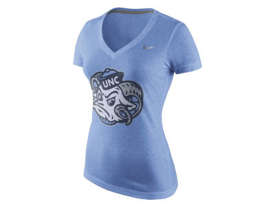 North Carolina Tar Heels Nike NCAA Women's Dri-Blend Mid V T-Shirt