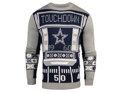 Dallas Cowboys NFL Men's Light Up Ugly Crew Neck Sweater