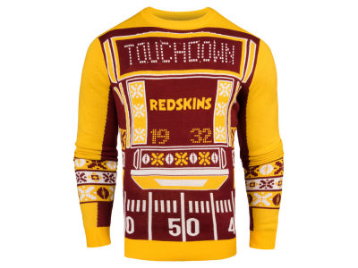 Washington Redskins NFL Men's Light Up Ugly Crew Neck Sweater