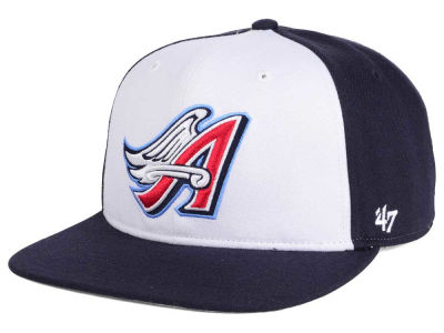 Los Angeles Angels MLB '47 Sure Shot Accent Snapback Cap