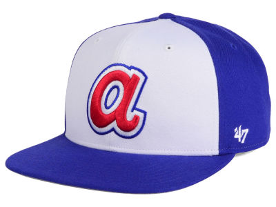 Atlanta Braves MLB '47 Sure Shot Accent Snapback Cap