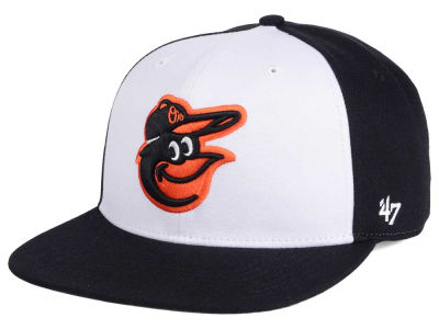 Baltimore Orioles MLB '47 Sure Shot Accent Snapback Cap