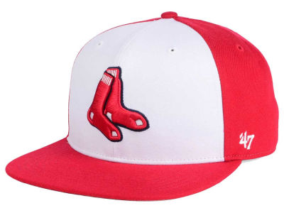 Boston Red Sox MLB '47 Sure Shot Accent Snapback Cap