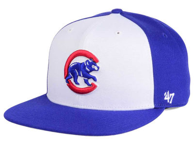 Chicago Cubs MLB '47 Sure Shot Accent Snapback Cap