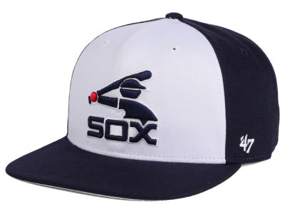 Chicago White Sox MLB '47 Sure Shot Accent Snapback Cap