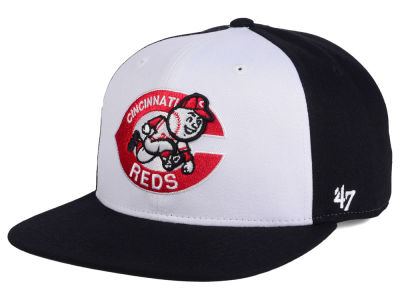 Cincinnati Reds MLB '47 Sure Shot Accent Snapback Cap