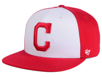 Cleveland Indians MLB '47 Sure Shot Accent Snapback Cap