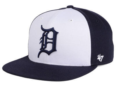 Detroit Tigers MLB '47 Sure Shot Accent Snapback Cap