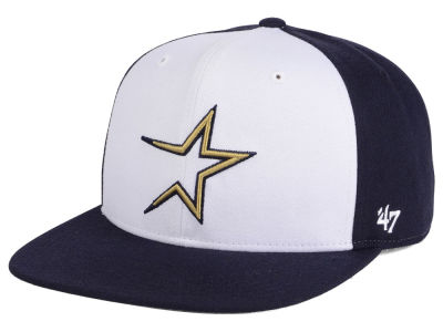 Houston Astros MLB '47 Sure Shot Accent Snapback Cap