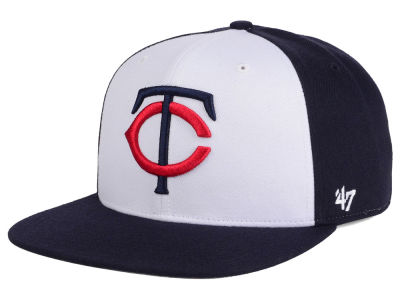 Minnesota Twins MLB '47 Sure Shot Accent Snapback Cap