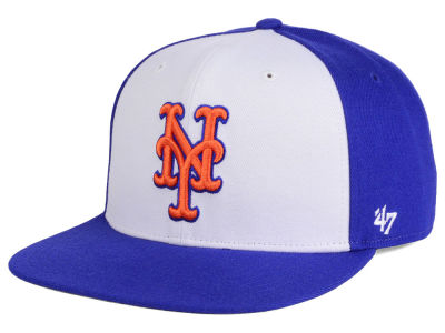 New York Mets MLB '47 Sure Shot Accent Snapback Cap