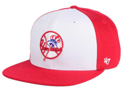 New York Yankees MLB '47 Sure Shot Accent Snapback Cap