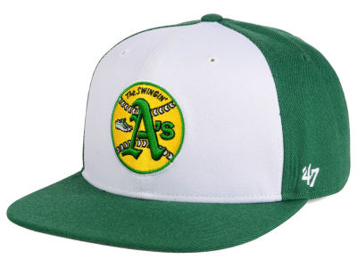 Oakland Athletics MLB '47 Sure Shot Accent Snapback Cap