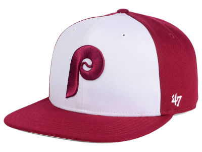 Philadelphia Phillies MLB '47 Sure Shot Accent Snapback Cap