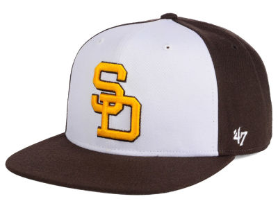San Diego Padres MLB '47 Sure Shot Accent Snapback Cap
