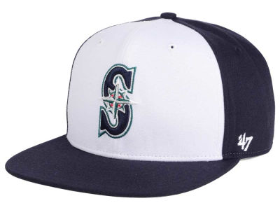 Seattle Mariners MLB '47 Sure Shot Accent Snapback Cap
