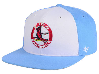 St. Louis Cardinals MLB '47 Sure Shot Accent Snapback Cap