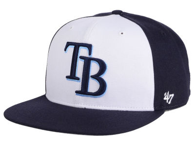 Tampa Bay Rays MLB '47 Sure Shot Accent Snapback Cap