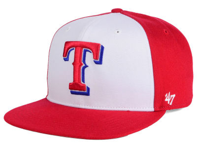 Texas Rangers MLB '47 Sure Shot Accent Snapback Cap