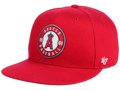 Los Angeles Angels MLB Patch Basic '47 CAPTAIN Cap