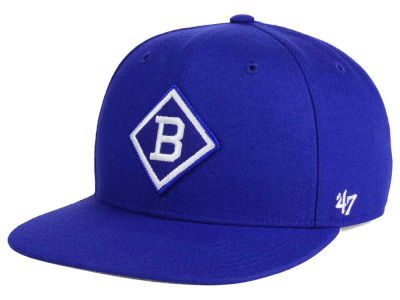Brooklyn Dodgers MLB Patch Basic '47 CAPTAIN Cap