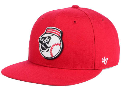 Cincinnati Reds MLB Patch Basic '47 CAPTAIN Cap