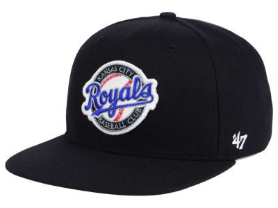 Kansas City Royals MLB Patch Basic '47 CAPTAIN Cap