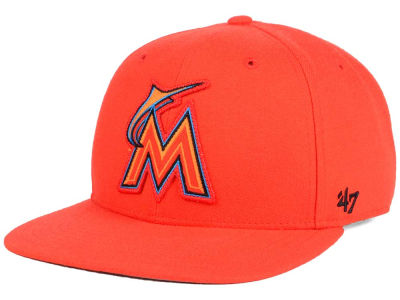 Miami Marlins MLB Patch Basic '47 CAPTAIN Cap