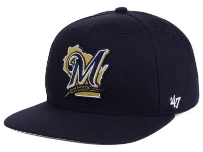 Milwaukee Brewers MLB Patch Basic '47 CAPTAIN Cap