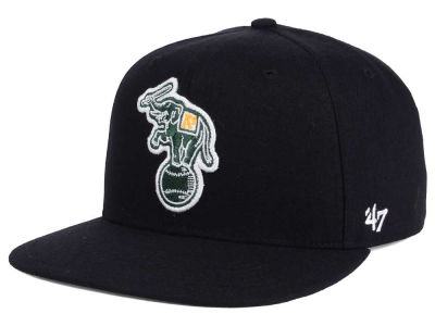 Oakland Athletics MLB Patch Basic '47 CAPTAIN Cap