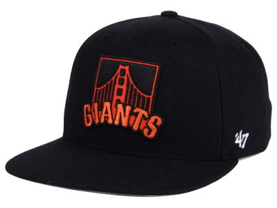 San Francisco Giants MLB Patch Basic '47 CAPTAIN Cap