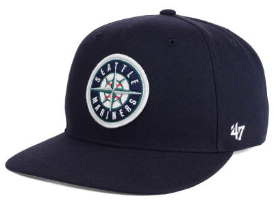 Seattle Mariners MLB Patch Basic '47 CAPTAIN Cap