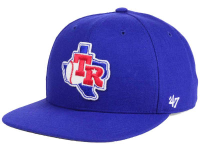 Texas Rangers MLB Patch Basic '47 CAPTAIN Cap