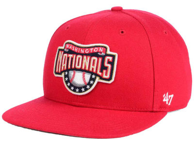 Washington Nationals MLB Patch Basic '47 CAPTAIN Cap