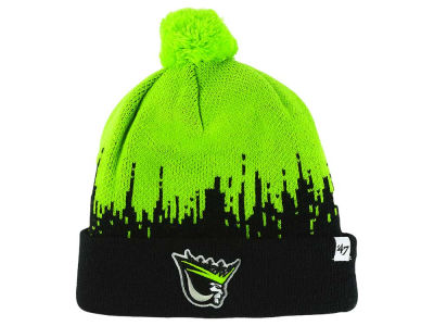 Edmonton Oil Kings '47 WHL Kids Riser Cuff Pom Knit