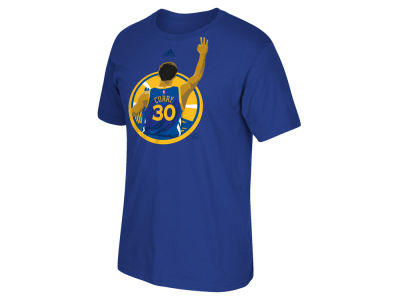 Golden State Warriors Stephen Curry adidas NBA Men's 3 Point Splash T-Shirt