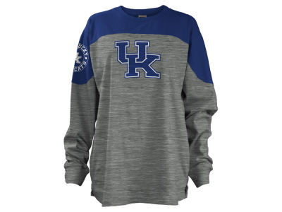 Kentucky Wildcats Pressbox NCAA Women's Cannon Big Long Sleeve Shirt
