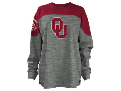 Oklahoma Sooners NCAA Women's Cannon Big Long Sleeve Shirt