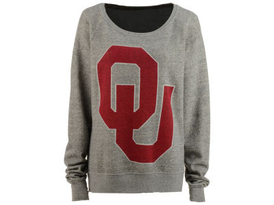 Oklahoma Sooners NCAA Women's Big Canvas Knobi Sweatshirt