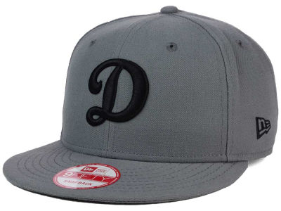 Los Angeles Dodgers New Era MLB Gray Black White 9FIFTY Snapback Cap