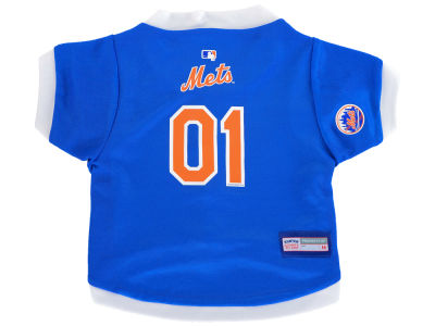 New York Mets Medium Pet Jersey