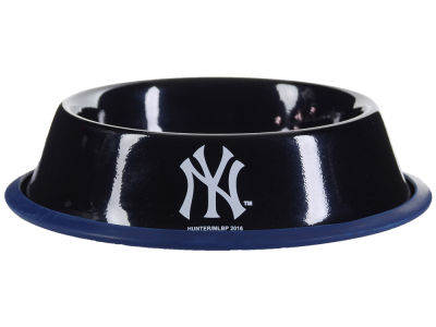 New York Yankees 24oz Gloss Pet Bowl
