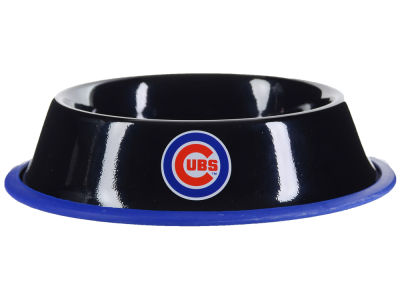 Chicago Cubs 24oz Gloss Pet Bowl