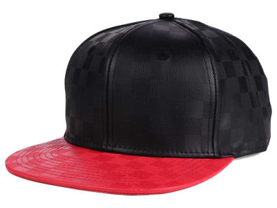 LIDS Private Label Tonal Check Snapback Hat