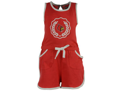 Louisville Cardinals NCAA Newborn Girls Romper Set