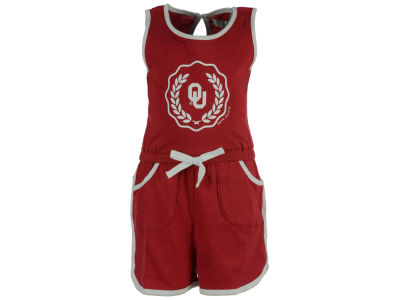 Oklahoma Sooners NCAA Newborn Girls Romper Set