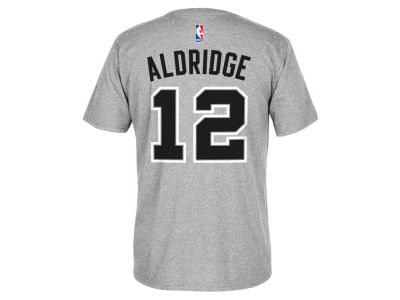 San Antonio Spurs LaMarcus Aldridge adidas NBA Men's Player T-Shirt