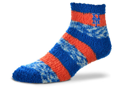 New York Mets For Bare Feet Sleep Soft Pro Stripe Socks